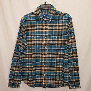 Aeropostale Long Sleeve Flannel Button Down Shirt